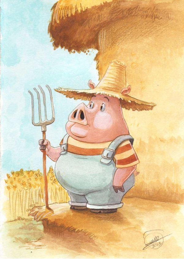 Adc A F E F A F D on Exposition Of The Three Little Pigs