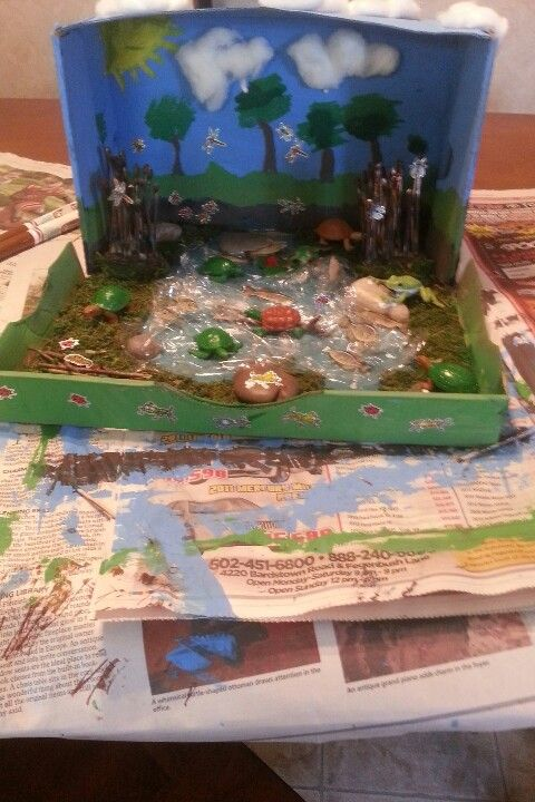 shoebox diorama for playmobil - Google zoeken