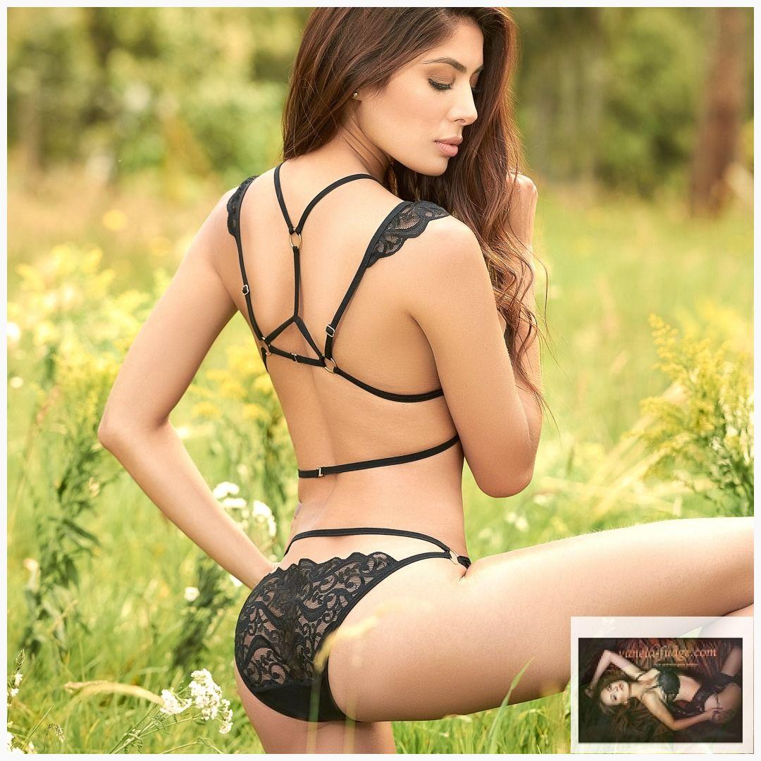 5129dc98986c5 Mapale Black Two Piece Set   vanela-fudge lingerie.   Lace lingerie ...