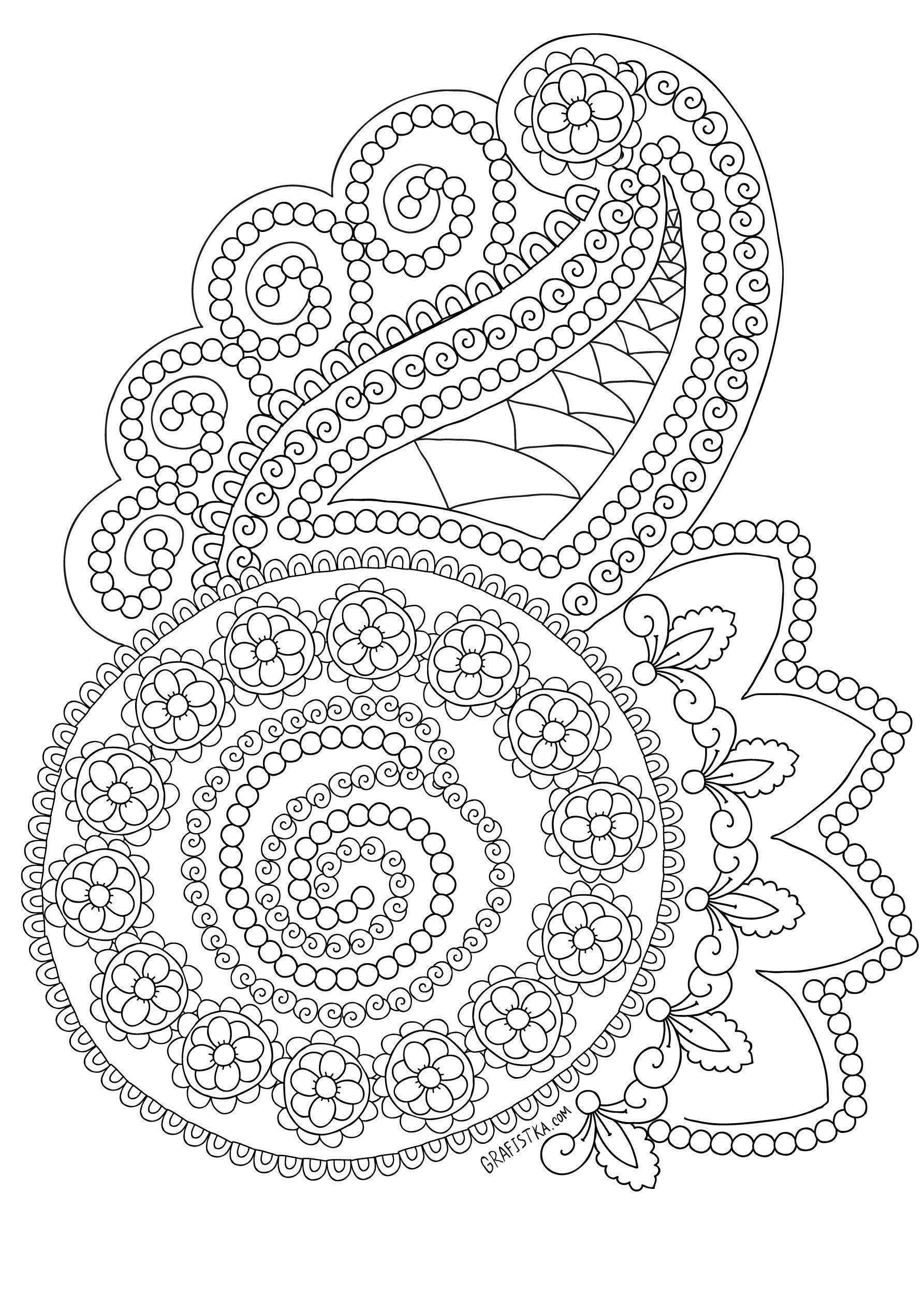 Раскраска антистрессовая огурцы LEAVES AND LEAVES Pinterest
