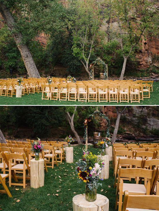 Planet Bluegrass Rustic Woodsy Wedding | The Wedding Chicks | Bloglovin'