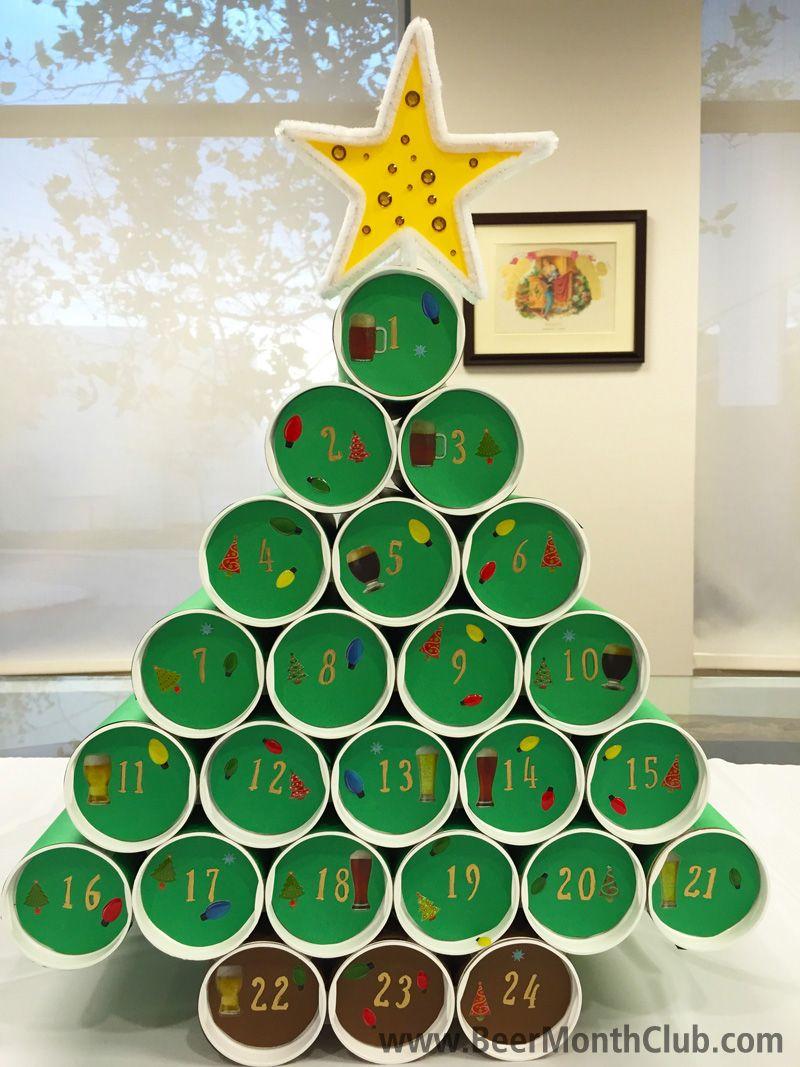How to Make a DIY Craft Beer Advent Calendar - Cra