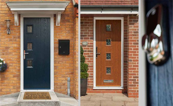 Brown Upvc Front Doors Google Search Home Pinterest Front