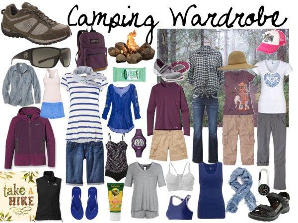Camping Wardrobe Travel Wardrobe In 2019 Camping