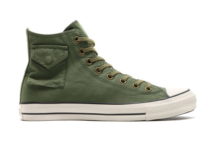 wholesale dealer a544f b5ec7 Converse All Star Meets The M-65 Jacket in This Japanese Collaboration
