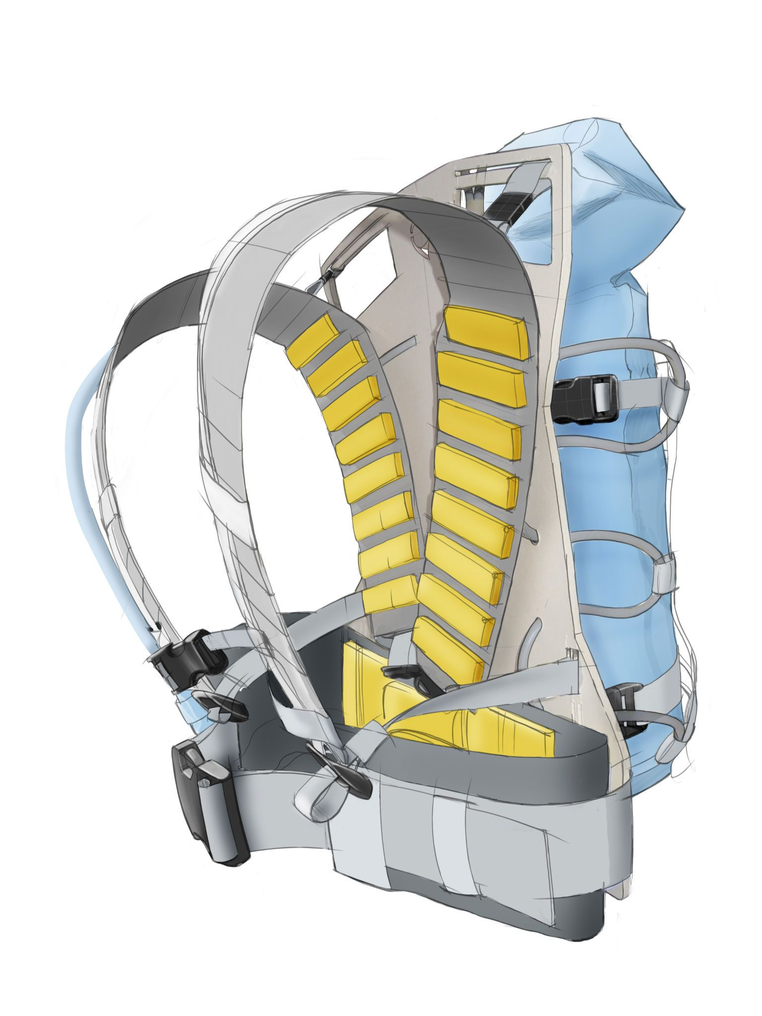 Zonda Emergency hidration backpack