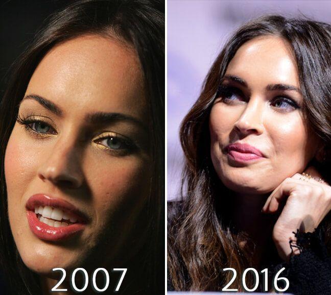 Megan Fox transformations photo