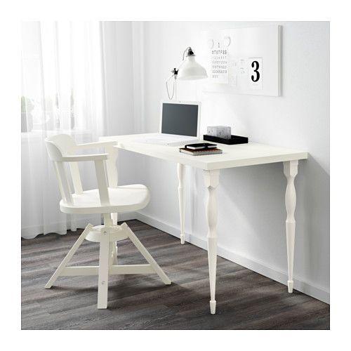 LINNMON / NIPEN Tavolo - bianco - IKEA