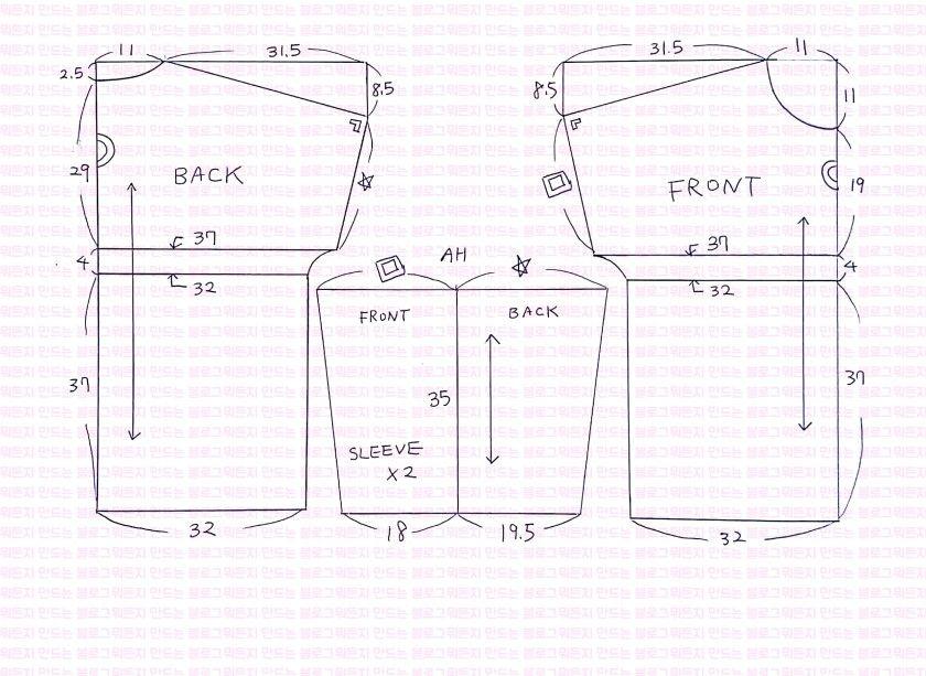 3번째 이미지 | Costura | Pinterest | Patrones blusas, Costura y Patrones