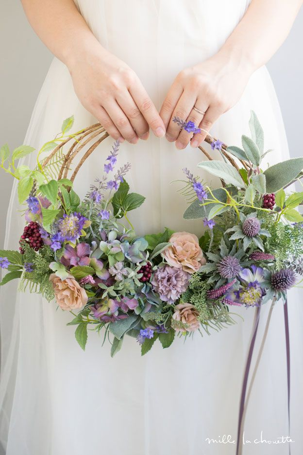very cool alternative to a traditional bouquet | Wedding | Pinterest ...