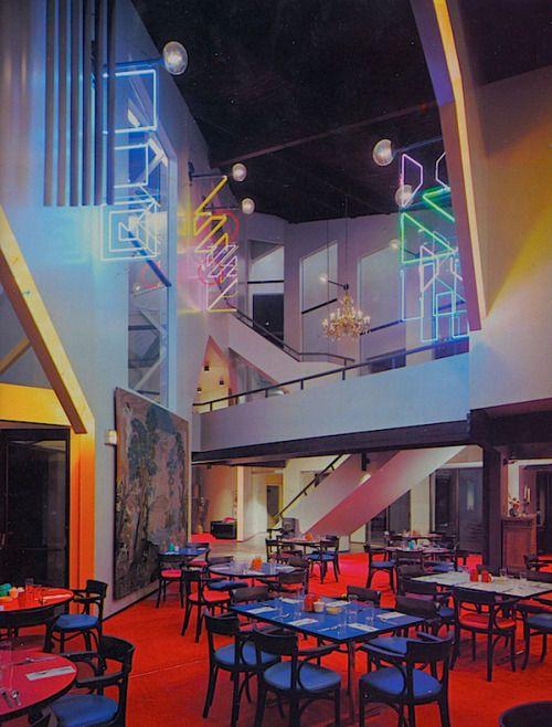 Gwynnielureeb  interior retro design decor pad philip johnson also       in pinterest rh
