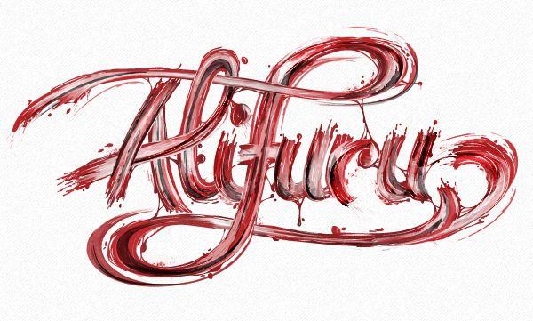 creative, design, Examples, Fonts, illlustration, Inspiration, print, Typography,Alifuru Collab