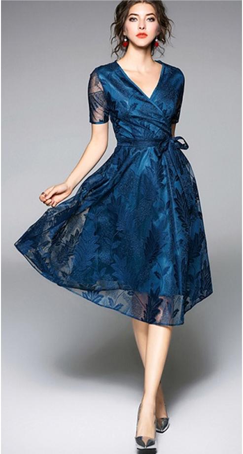 3d150d91d73 Bernadette charming Cocktail dress - Silk