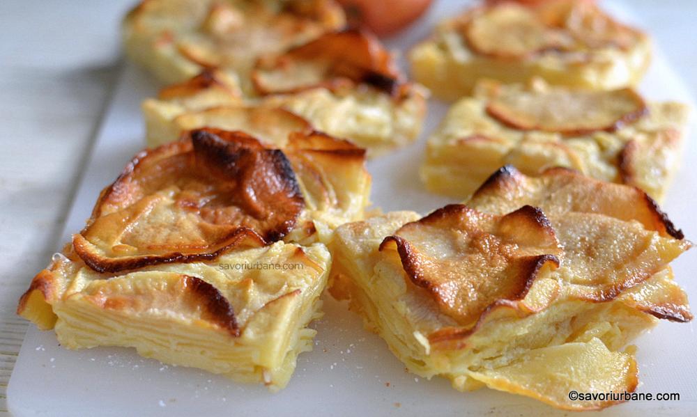 Savori urbane prajitura cu mere