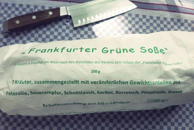 Grüne Soße Original Frankfurter Rezept zu Ostern. Im Frühjahr, mit hartgekochten Eiern oder zu Spargel.