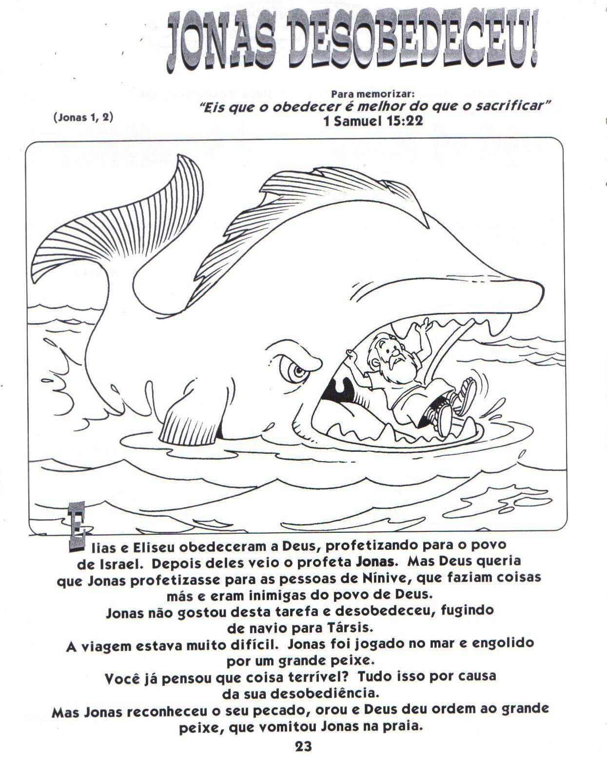 a história de jonas jonas e a baleia pinterest