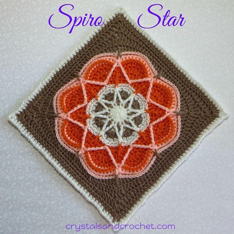 Ravelry: Spiro Star by Helen Shrimpton | Doilies | Pinterest