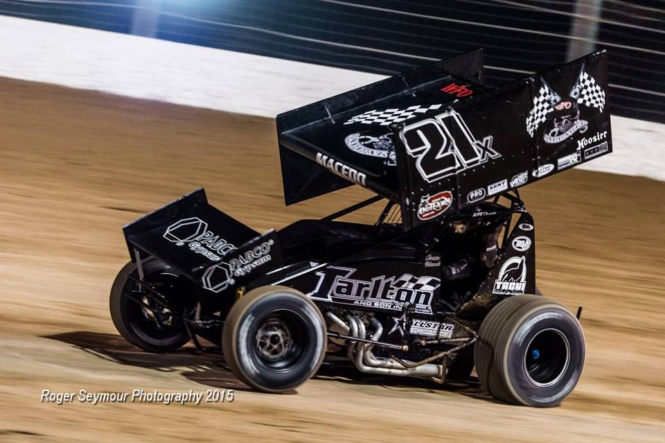 PETERSEN MEDIA » Macedo Runs 11th With World of Outlaws In