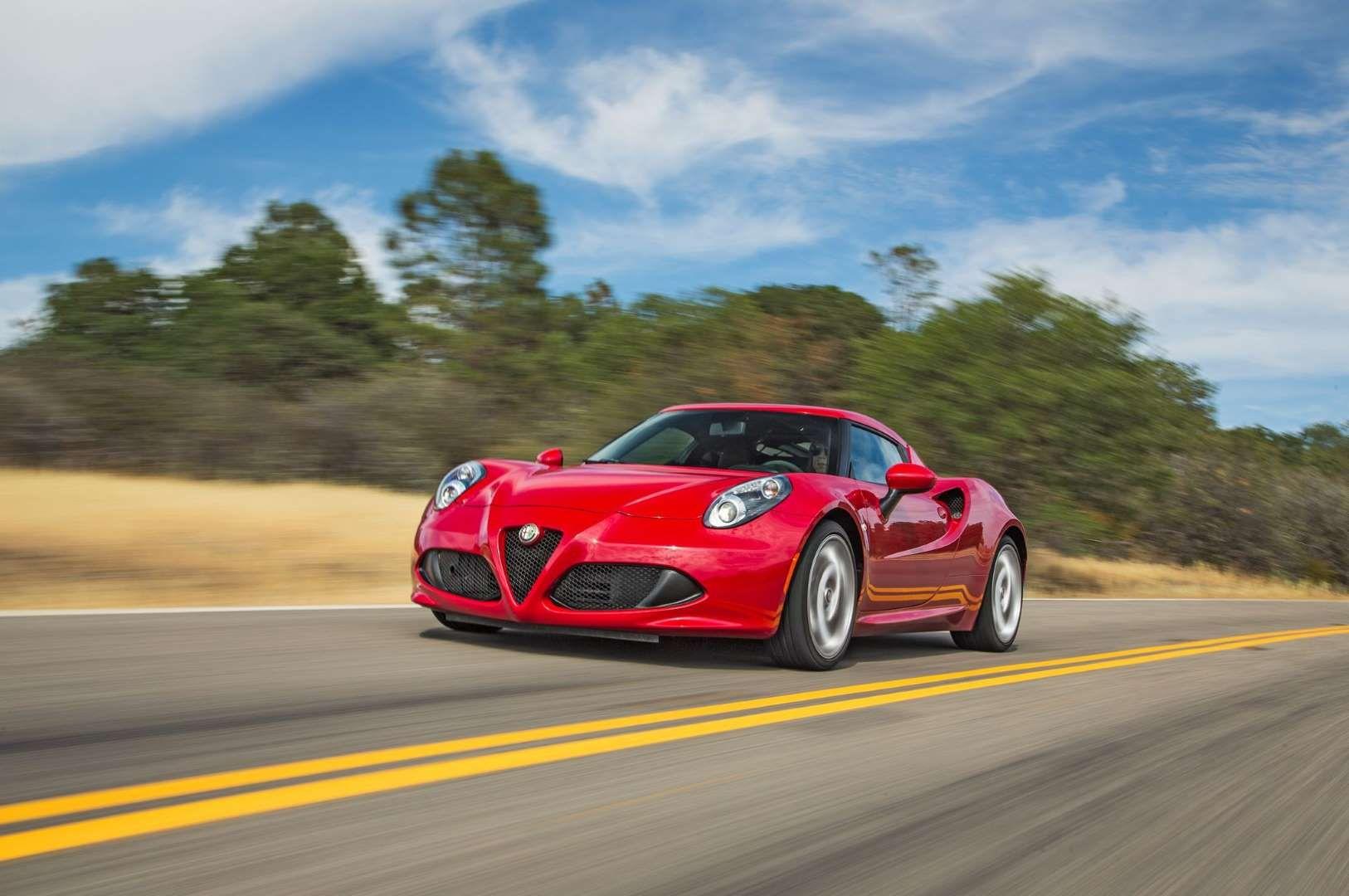 2015 Alfa Romeo 4C Launch Edition Track Package Alfa