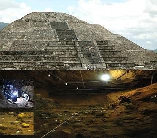Estranhos objetos metálicos são encontrados abaixo do templo da serpente emplumada, no México.Pesquisadores do Instituto Nacional de Antropologia e História (INAH) do México fizeram uma descoberta incrível enquanto investigavam câmeras subterrâneas recentemente encontradas sob o templo da Serpente Emplumada, em Teotihuacán. Eles encontraram pelo menos 100 objetos metálicos de ao menos 1800 anosde idade.