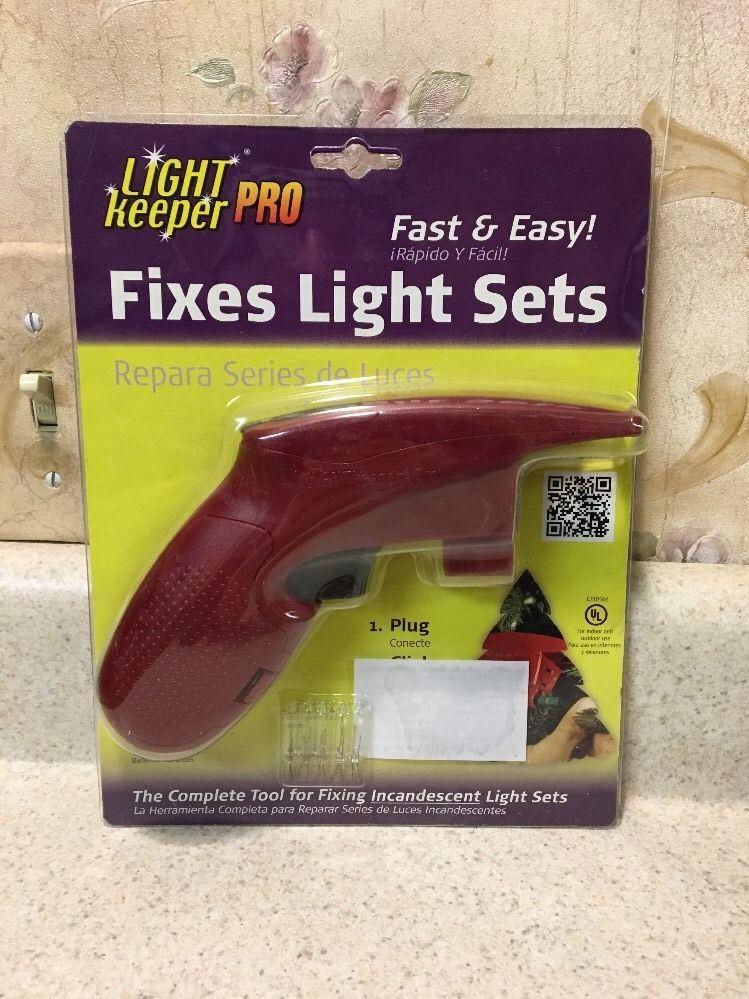 Light Keeper Pro Christmas Tree Lights Fixer Tester Repair Tool