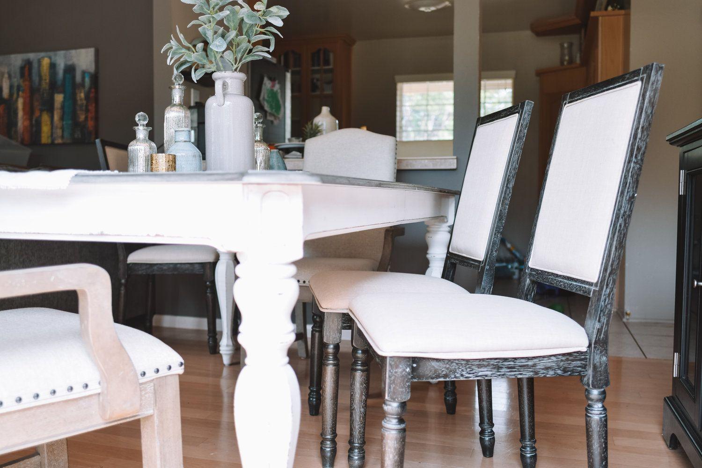 Farmhouse dining room tables decor wayfair
