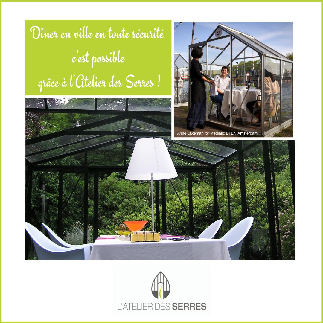 On A Tous Envie De Boire Un Bon Cafe En Terrasse Ou Diner Au Restaurant Pa Tien Ce Jusqu A Mardi Mais Attention Il Faudr En 2020 Serre Jardin Jardins En Bois Serre