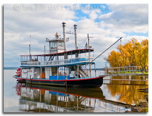 Chautauqua Institution - Chautauqua Belle Sternwheel Steamboat - photo by Igor Borisenko Photography, via Flickr  http://269belle.com/