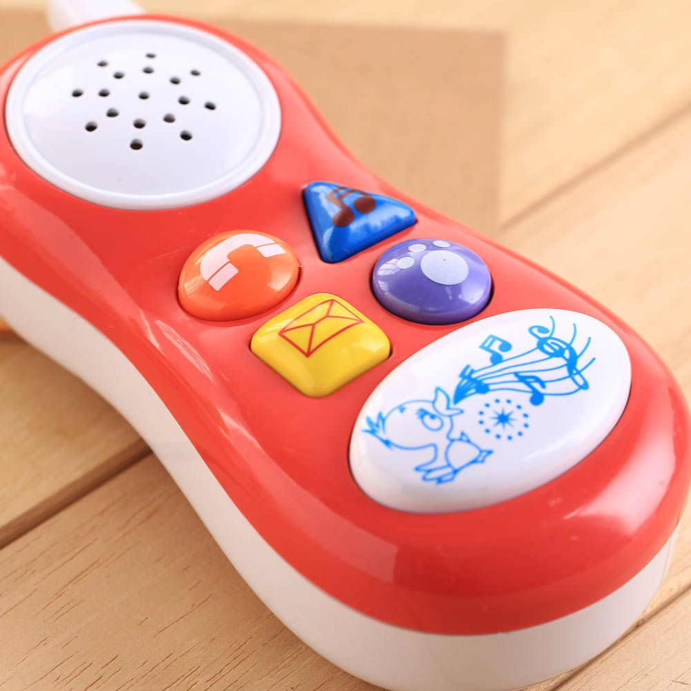 Cartoons Educational Kids Toy Baby Toys Baby Kids Toy Gifts Phone Phone Toy LE