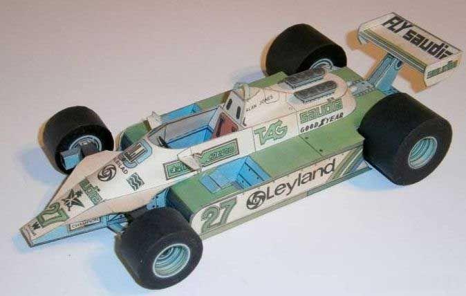 F1 Paper Model - Williams FW07 Paper Car Free Template Download - http://www.papercraftsquare.com/f1-paper-model-williams-fw07-paper-car-free-template-download.html#124, #Car, #F1, #F1PaperModel, #FormulaOne, #FW07, #PaperCar, #Williams, #WilliamsFW07