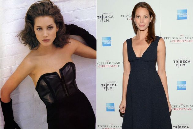 THEN: Christy Turlington was a model for Calvin Klein and starred in music videos for George Michael and Duran Duran. NOW: Turlington modeled for Calvin Klein from 1987 to 2007, and has been featured in campaigns for Maybelline and Versace. In the 2000s, Turlington launched a skin care line and two fashion lines for Puma.