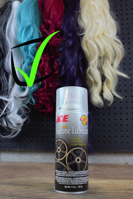 Silicone Spray for Detangling Wigs Silicone spray