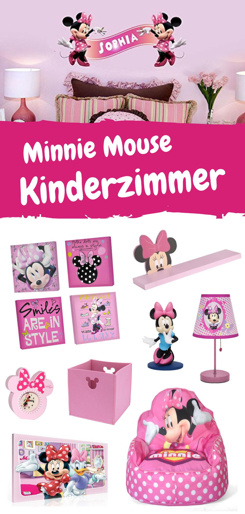Kinderzimmerideen für Mickey und Minnie Mouse Fans. Vom rosa Minnie ...
