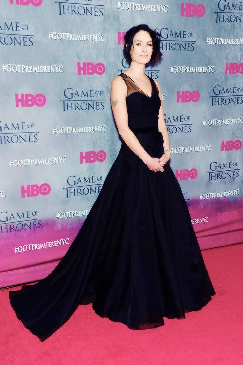 """Lena Headey attends the """"Game Of Thrones"""" Season 4 New York premiere at Avery Fisher Hall, Lincoln Center on March 18, 2014 in New York City."""