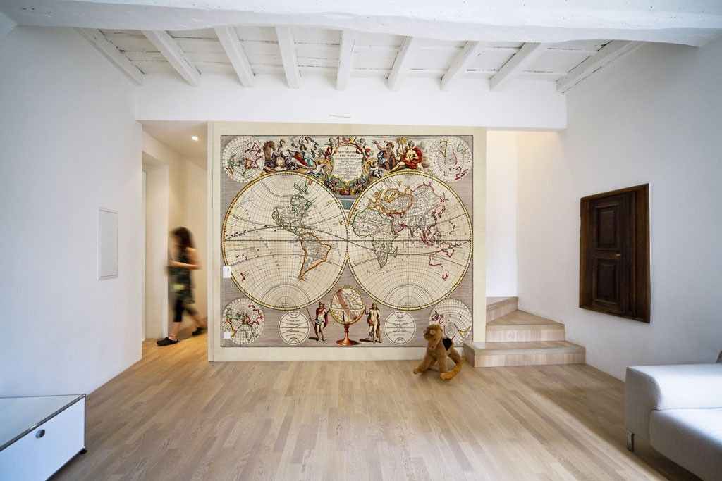 Eazywallz Medieval World Map Wall Mural Httpwww - Floor to ceiling world map