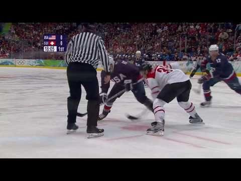 USA 3-1 Switzerland - Men's Ice Hockey   Vancouver 2010 Winter Olympics