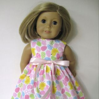 My sister in law makes dresses for dolls on Etsy. Put Dressesfordolls in search :)