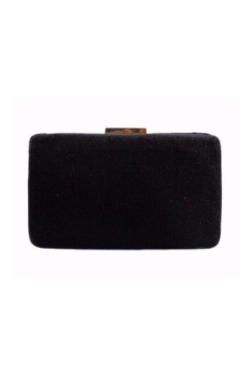 The Andrea velvet clutch features a gold toned rectangle clasp and an optional drop-in chain strap. Classy or casual the Andrea will add a great touch to any outfit. Easily fits standard size cellphone.  Measurements: 8W x 4.5H x 2D.  Comes in two colors: Black and Maroon Andrea Clutch-Black by Kayu. Bags - Clutches - Evening California