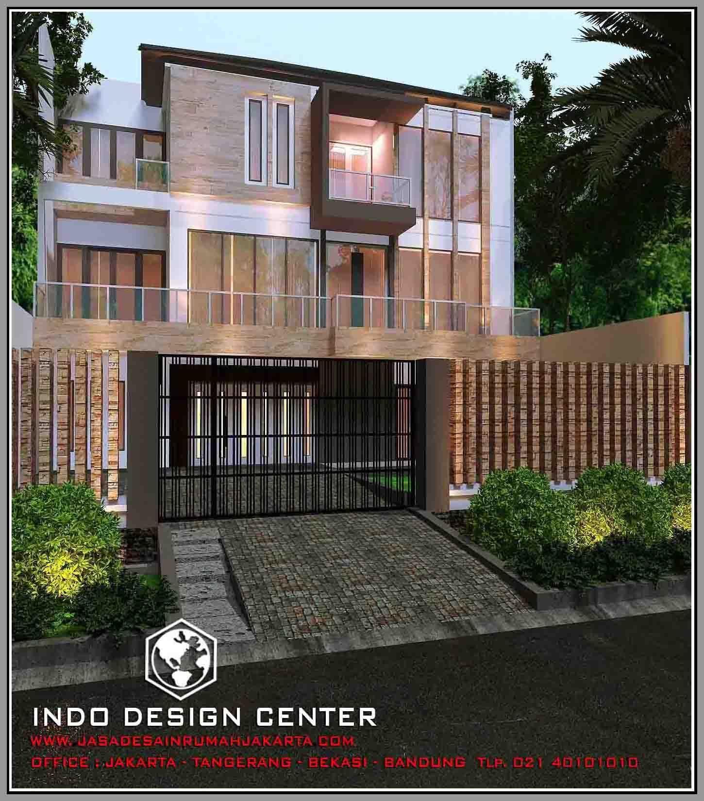 Rumah Minimalis 3 Lantai Tampak 2 Lantai Jasa Desain Rumah Murah
