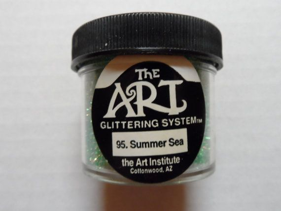 Craft Glitter The Art Institute 1 oz. jar 95 by ShellysSweetFinds