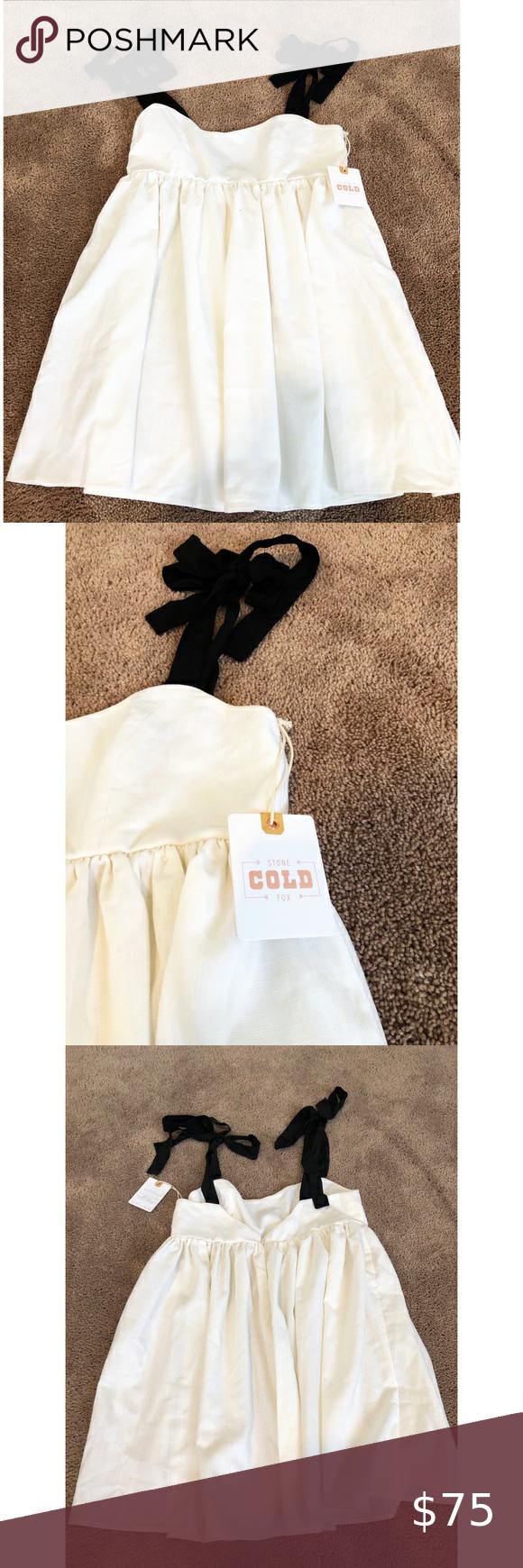 Stone cold fox Sicily Silk mini dress   Silk mini dress
