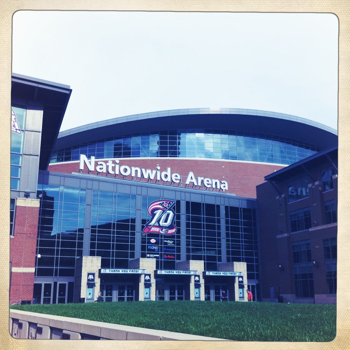 Nationwide Arena In Columbus Rampage Jackson Favorite Places Nationwide
