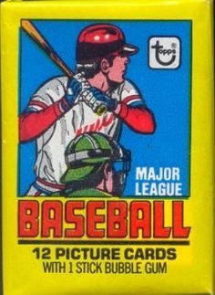 Topps Wax Pack Google Search Trading Cards Baseball Card Packs