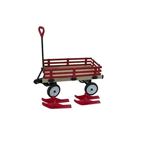 Millside Convertible Wagon Sleigh Industries Toys R Us