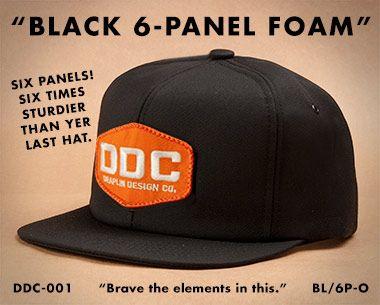 "Draplin Design Co.: DDC-001 ""Factory Floor Issue Action Cap"""