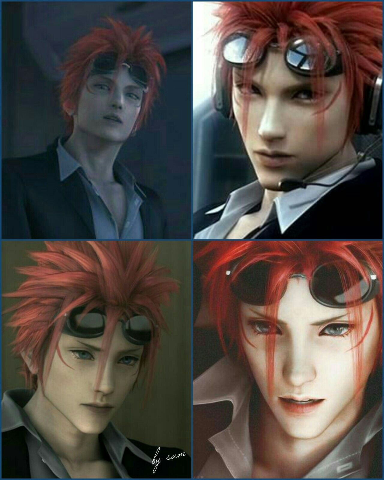 Pin by Desiree Mills on Final Fantasy VII in 2020 Reno