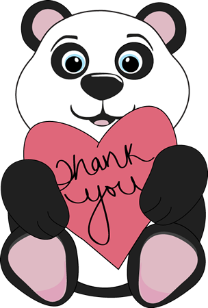 46++ Thank you clipart cute information