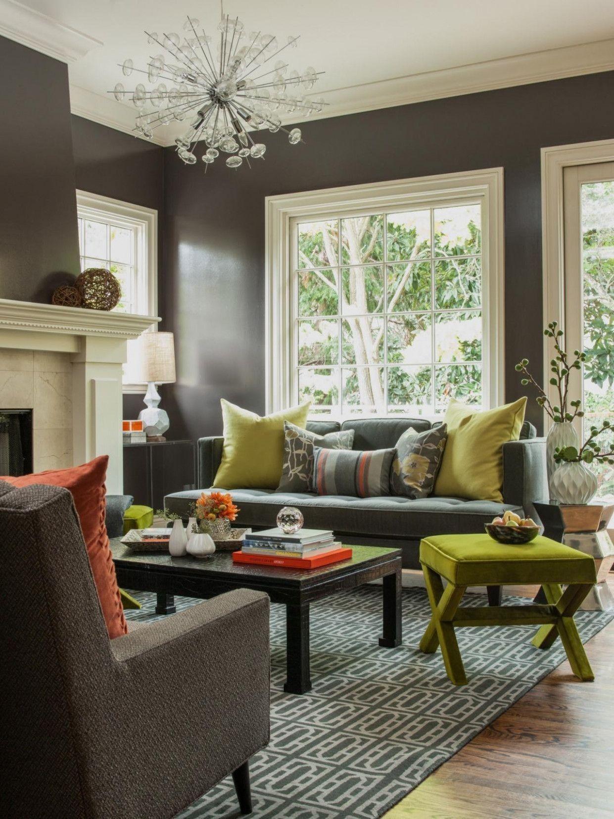 80 Beautiful Grey Green Living Rooms Design Ideas Fun Li