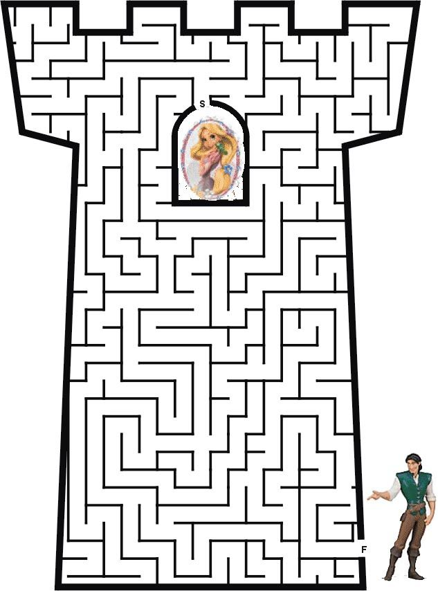 Labyrinthe Kids Activity Pages Labyr