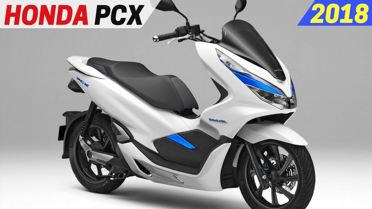 New 2018 Honda Pcx Hybrid And Electric Scooter High Output Battery Honda Motorcycle Scooter